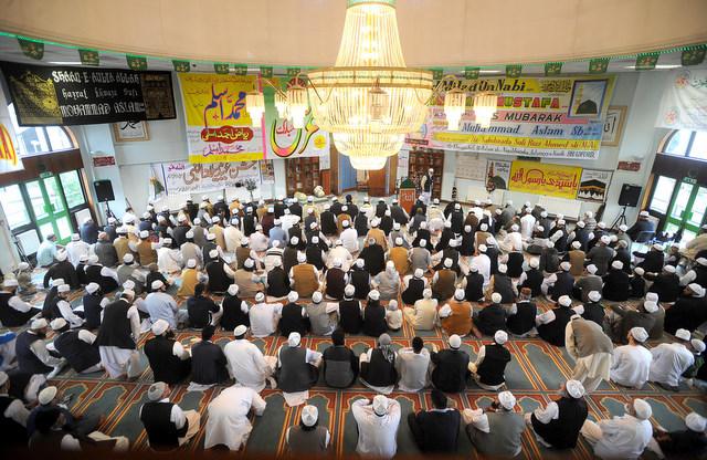 Mehfil held in Jamia Masjid Hanfia